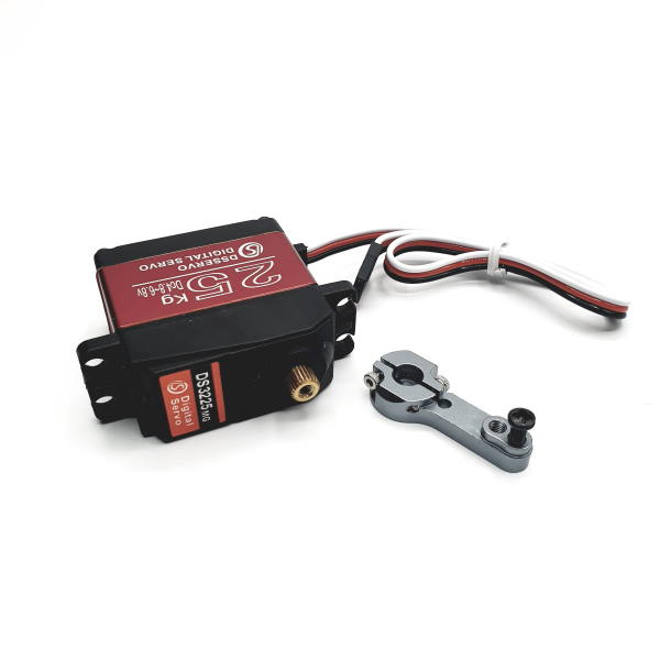 25Kg Waterproof Digital Servo Motor With Metal Gears