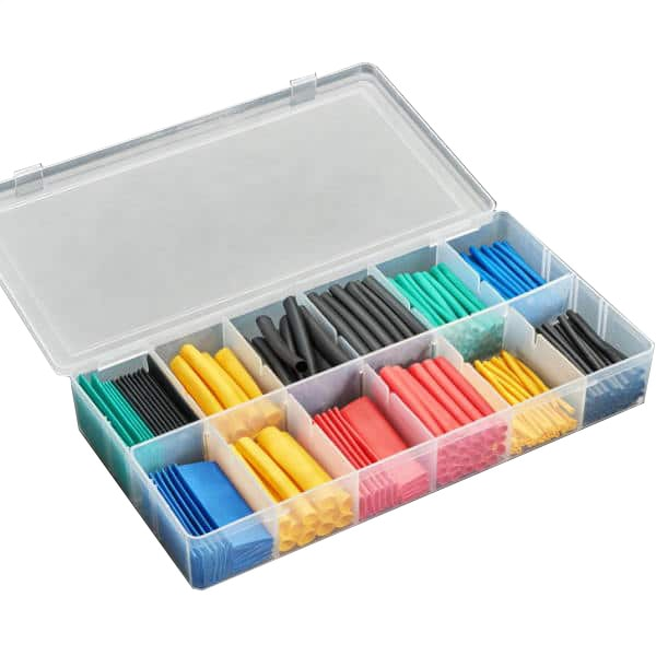 280PC Heat Shrink Kit - Multicoloured - Proto-PIC