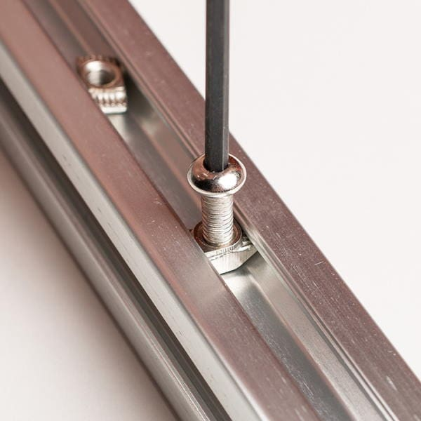Slim T-Nut tighten and rotate