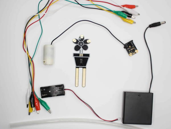 contents of plant watering kit for microbit