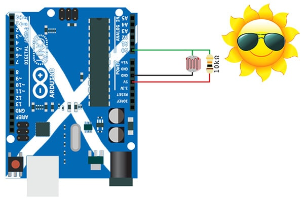 Connecting and LDR to your Arduino