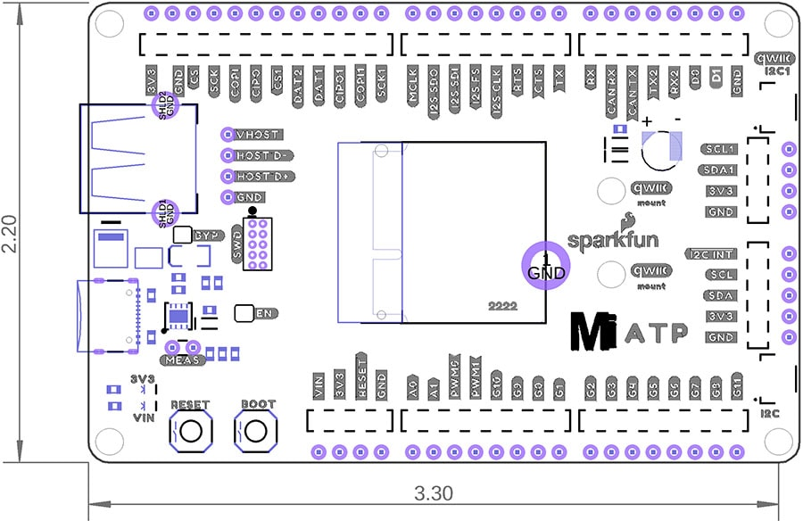 MicroMod ATP Carrier Dimensions