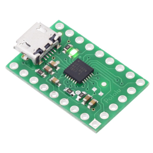 USB-to-Serial Adapter Carrier Board, CP2102N