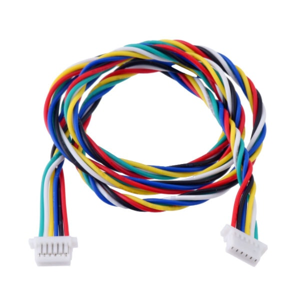 Cable, 6-Pin, Female-Female, JST SH-Style, 40cm