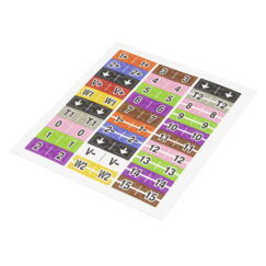 30-Pin Flywire Labels for the Analog Discovery 2 (BOK-18075)