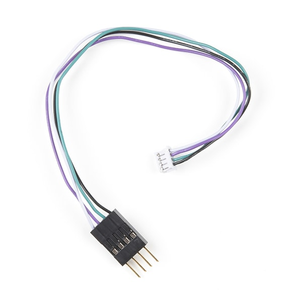 Cable, Breadboard to JST ZHR, 4-pin x 1.5mm Pitch (CAB-18080)