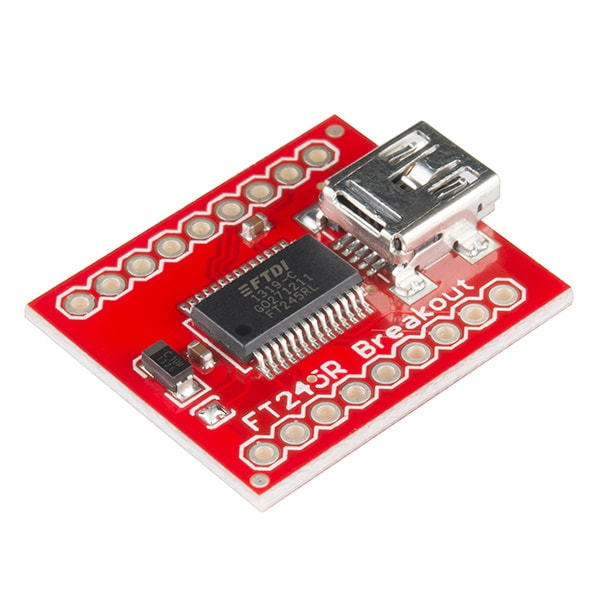 Breakout Board for FT245RL USB to FIFO Main