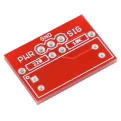 Breakout Board for Photo Interrupter CNZ1120 Top View