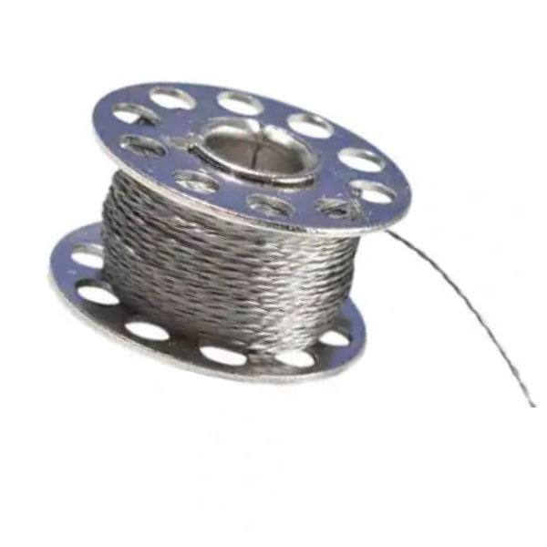 Stainless Thin Conductive Thread, 2 ply, 23 meter/76 ft